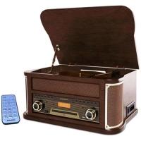 MAJESTIC TT 47 DAB GIRADISCHI 33/45/78 GIRI BLUETOOTH RADIO DAB+