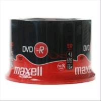 MAXELL DVD-R 4.7GB 16X CAMPANA 50PZ