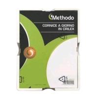 METHODO CORNICE A GIORNO IN CRILEX DA MURO 500X700 mm TRASPARENT