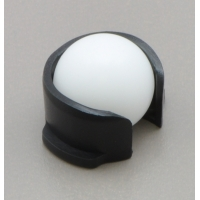 Replacement 3pi Ball Caster with 1/2 (inches) Plastic Ball