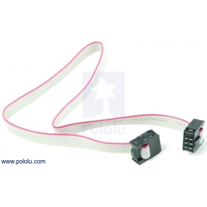 6-Conductor Ribbon Cable with IDC Connectors 12 (inches)