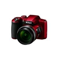 NIKON COOLPIX B600 RED POWER MORE KIT ZOOM OTTICO 60x 16 MP FILM