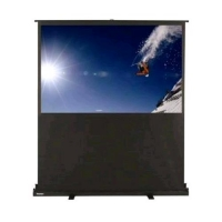 """OPTOMA PANOVIEW PULL-UP BIANCO SOLLEVAMENTO MANUALE 72"""""""