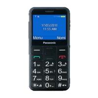 """PANASONIC KX-TU150EXBN NEW BLACK EASY PHONE 2.4"""" DUAL SIM TASTI"""
