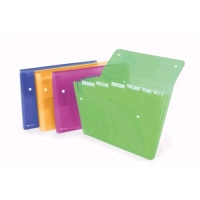 REXEL ICE CARTELLE A SOFFIETTO IN PP 6 TASCHE 330X250MM A4 COL.