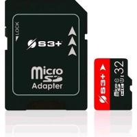 S3+ S3SDC10U1/16GB 16GB MICRO SDHC CL 10 + ADATTATORE