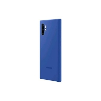 SAMSUNG GALAXY NOTE 10+ COVER IN SILICONE BLUE