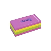 TARTAN NOTE BLOCCHETTI 100 FOGLI POST-IT 38MMx51MM COLORI ASSORT