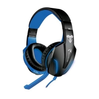 TECHMADE TM-FL1-BL CUFFIE GAMING MULTIMEDIALI BLU