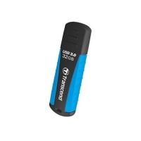 TRANSCEND JETFLASH RUGGED 810 CHIAVETTA USB 3.0 32GB NERO/AZZURR