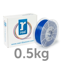 REAL PLA - Blue - spool of 0.5Kg - 1.75mm