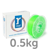 REAL PLA - Fluorescent Green - spool of 500g - 1.75mm