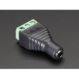 3.5mm (1/8) Stereo Audio Jack Terminal Block