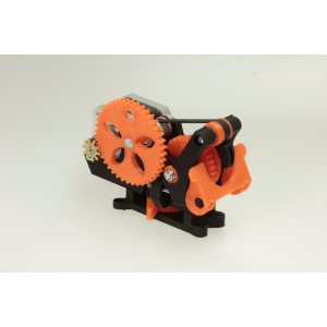 The VAEDER extruder without plastics (PLA)
