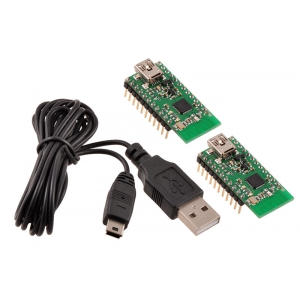 Wixel Pair (Fully Assembled) + USB Cable
