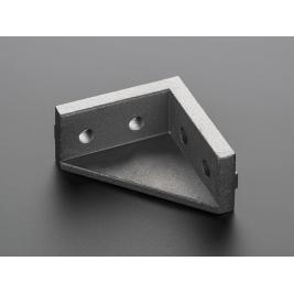 Aluminum Extrusion Double Corner Brace Support (for 20x20)
