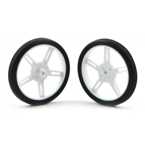 Pololu Wheel 60×8mm Pair - White
