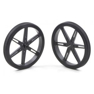 Pololu Wheel 80×10mm Pair - Black