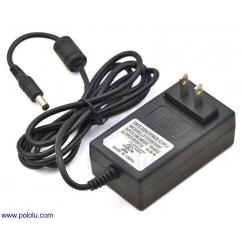 Wall Power Adapter: 5VDC, 3A, 5.5×2.1mm Barrel Jack, Center-Pos