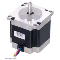 Stepper Motor: Unipolar/Bipolar, 200 Steps/Rev, 57×56mm, 7.4V,