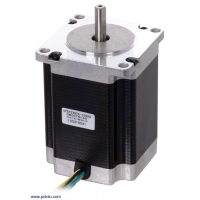 Stepper Motor: Unipolar/Bipolar, 200 Steps/Rev, 57×76mm, 8.6V,