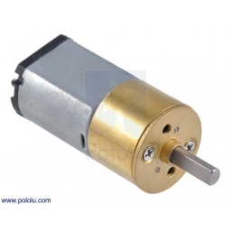 115:1 Metal Gearmotor 15.5Dx30L mm