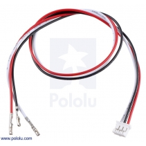 3-Pin Female JST PH-Style Cable (30 cm) with Female Pins for 0.1