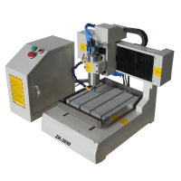 ZK-3030 Mini Metal CNC Router With Rotary Axis