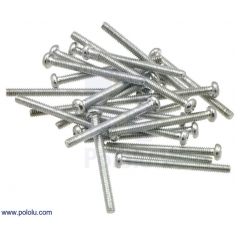 Machine Screw: #2-56, 1 (inches) Length, Phillips (25-pack)