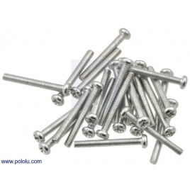 Machine Screw: #4-40, 1 (inches) Length, Phillips (25-pack)