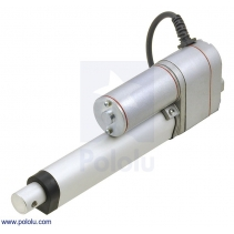 Generic Linear Actuator with Feedback: 4 (inches) Stroke, 12V, 0