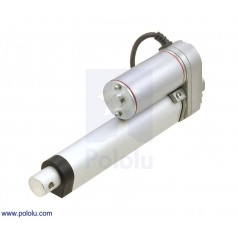 Generic Linear Actuator: 4 (inches) Stroke, 12V, 1.5 (inches)/s