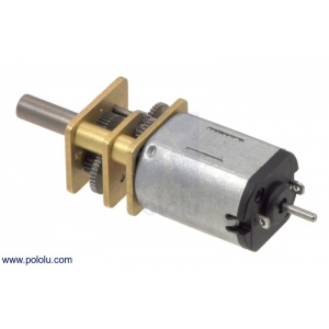 30:1 Micro Metal Gearmotor with Extended Motor Shaft
