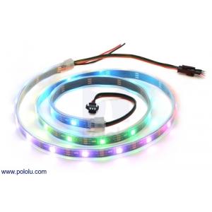 Addressable RGB 30-LED Strip, 5V, 1m (WS2812B)