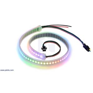 Addressable High-Density RGB 72-LED Strip, 5V, 0.5m (WS2812B)