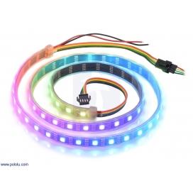 Addressable RGB 60-LED Strip, 5V, 1m (APA102C)