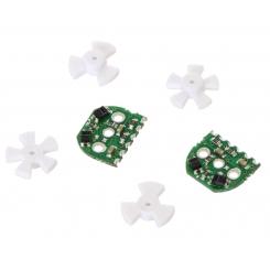 Optical Encoder Pair Kit for Micro Metal Gearmotors, 3.3V
