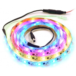 Addressable RGB 60-LED Strip, 5V, 2m, (Low-Speed TM1804)