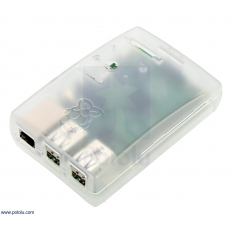 Translucent Enclosure for Raspberry Pi B+ and 2 B