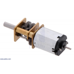 1000:1 Micro Metal Gearmotor with Extended Motor Shaft