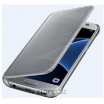 Samsung CLEAR VIEW COVER SILVER S7 FLAT