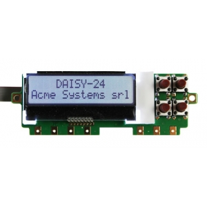 Daisy-24 - Front panel LCD with push buttons