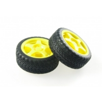 Rubber Wheel for A4WD and A2WD (Pair)