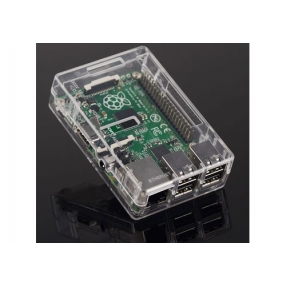 Contenitore trasparente per Raspberry Pi