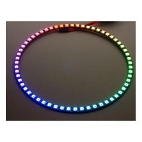 Anello con 60 LED RGB WS2812 e driver integrato