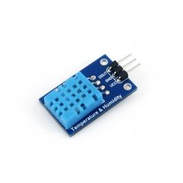 Scheda con sensore temperatura e umidità DHT11