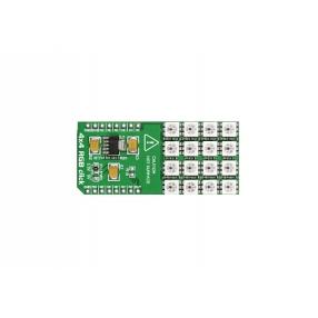 Click Board matrice 4x4 LED RGB