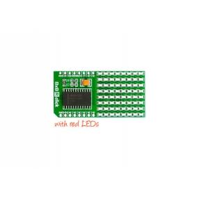 Click Board matrice LED rossi