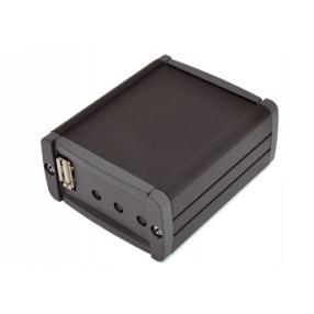 Box nero in alluminio per FT1185M (Filo diffusione audio su rete