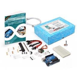 """Set libro """"Primi passi con Arduino"""" + componenti e boa"""
